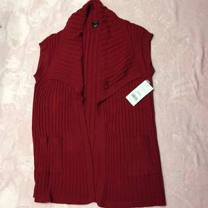 Haggar medium short sleeve cardigan